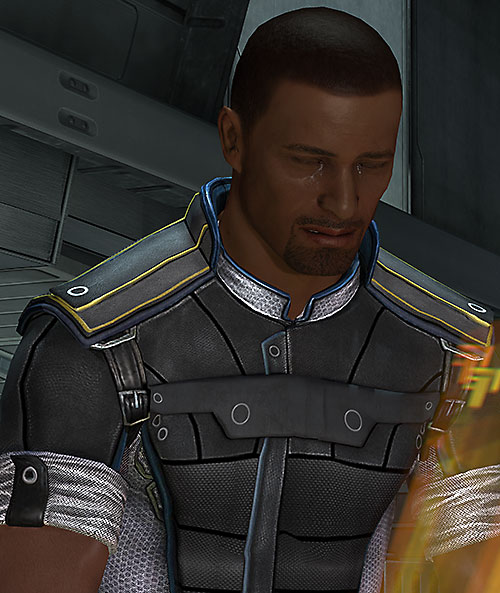 Steve Cortez (Mass Effect) crying