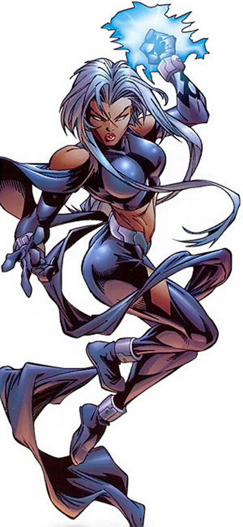 Storm of the X-Men (Marvel Comics) during the 2000s