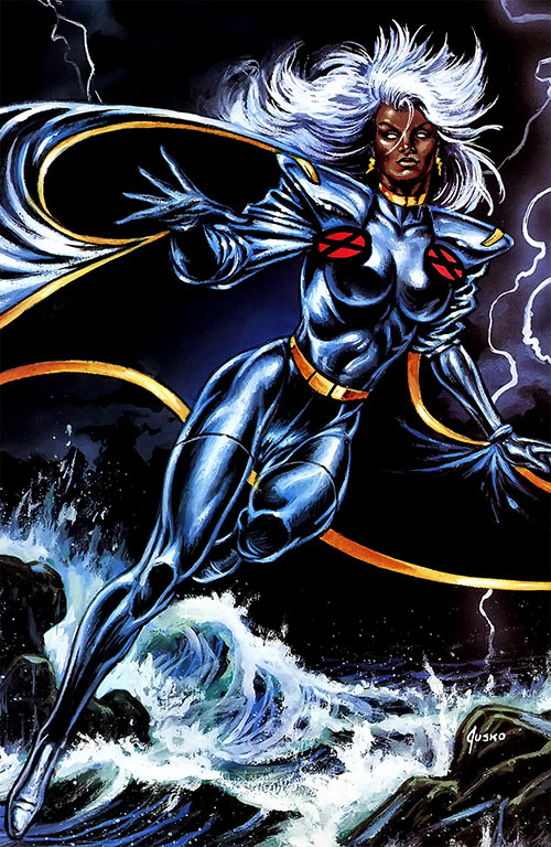 Storm of the X-Men (Marvel Comics) by Jusko