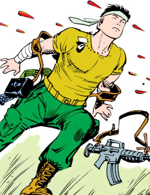 Storm Shadow - GI Joe - Marvel Comics - In Vietnam