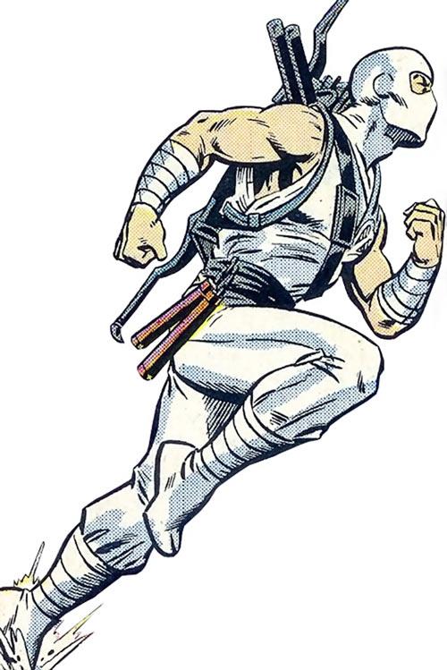 Storm Shadow - GI Joe - Marvel Comics - Running - Side view