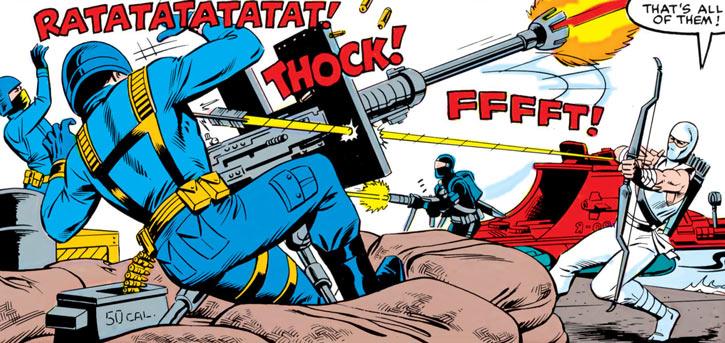 Storm Shadow - GI Joe - Marvel Comics - Archery