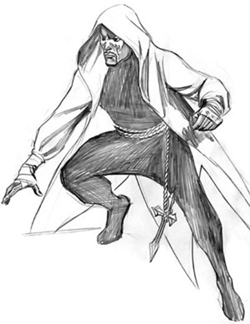 Street Angel (Astro City comics) pencil sketch