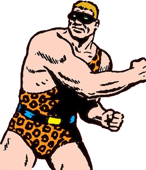 Strongarm Bandit (early Superman) (Action comics)