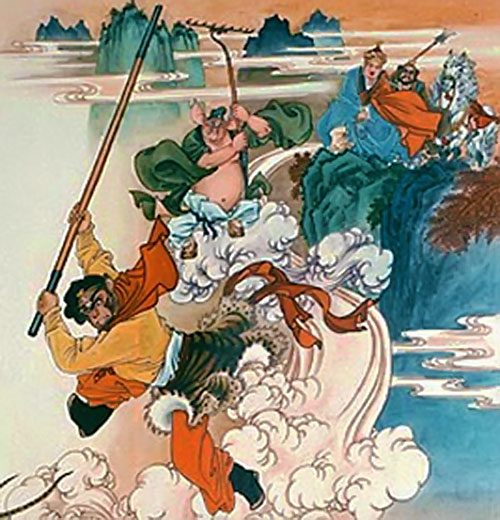 monkey king journey to the west