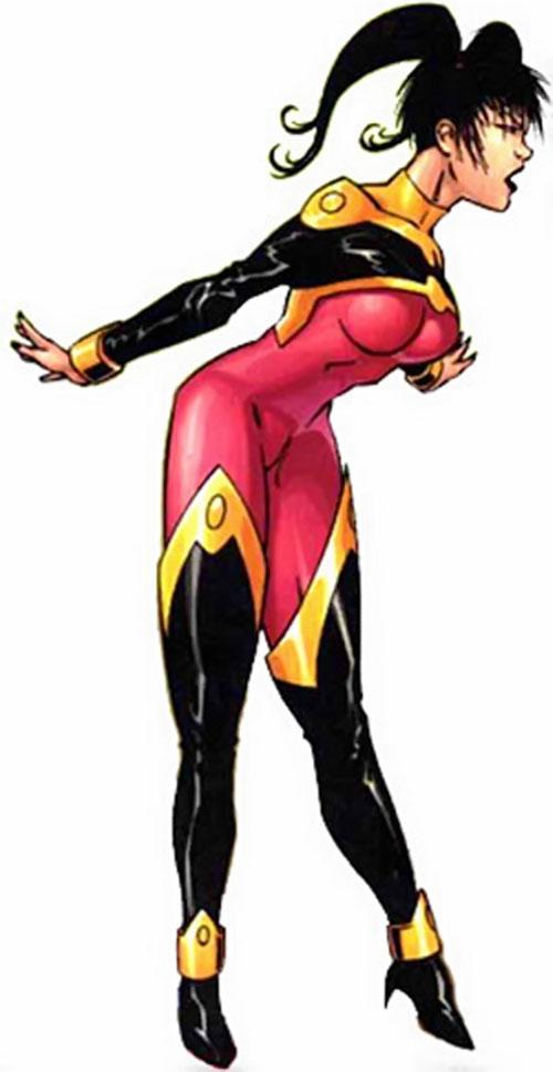 sunfire marvel comics exiles mariko yashida