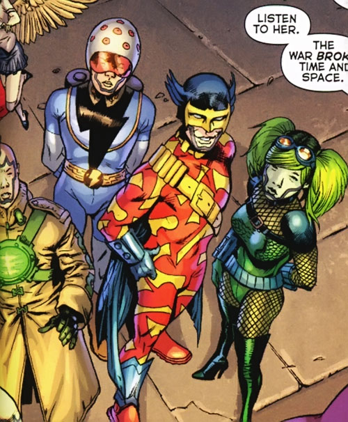 Super-Young Team (DC Comics Final Crisis) (Japanese) high angle shot