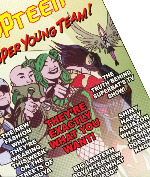 Super-Young Team (DC Comics Final Crisis) (Japanese) magazine cover