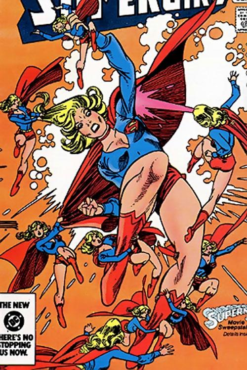 Supergirl vs. the Supergirl mini-replicants (DC Comics)