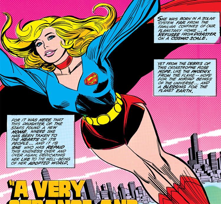 Supergirl (Linda Davers / Kara Zor-El) by Carmine Infantino, 1982
