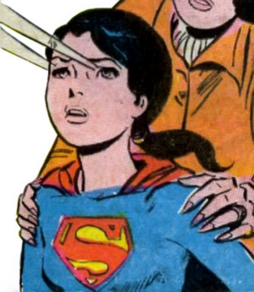 Superlass (Superman's daughter) (DC Comics) eyebeams