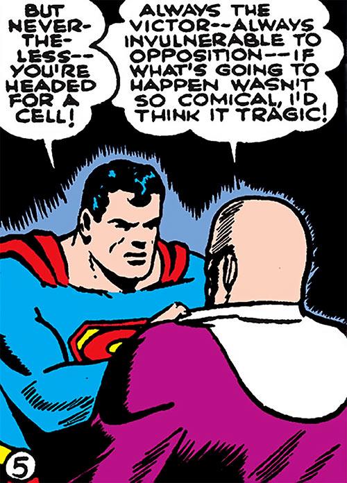 Superman in 1942 (DC Comics) - vs. Luthor