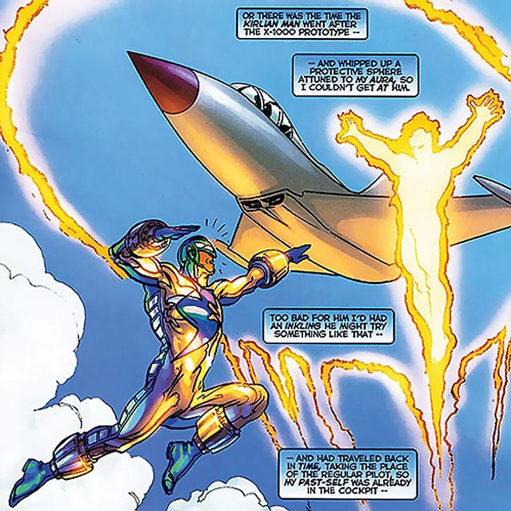 Supersonic vs. the Kirlian Man