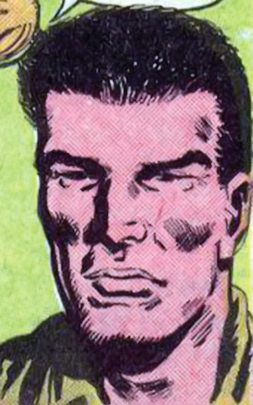 Swift Otter (Star-Spangled War Stories DC Comics) face closeup