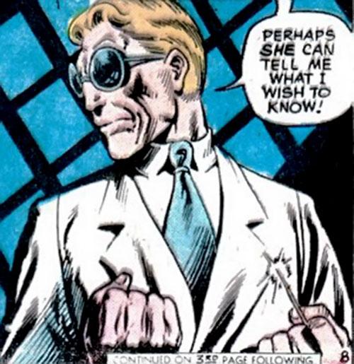 The Swiss (Richard Dragon enemy) (DC Comics)