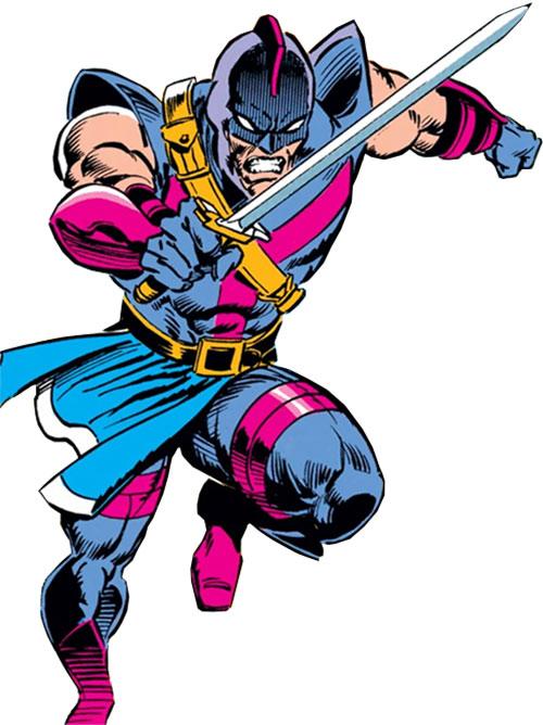 Swordsman of the Gatherers (Avengers enemy) (Marvel Comics)