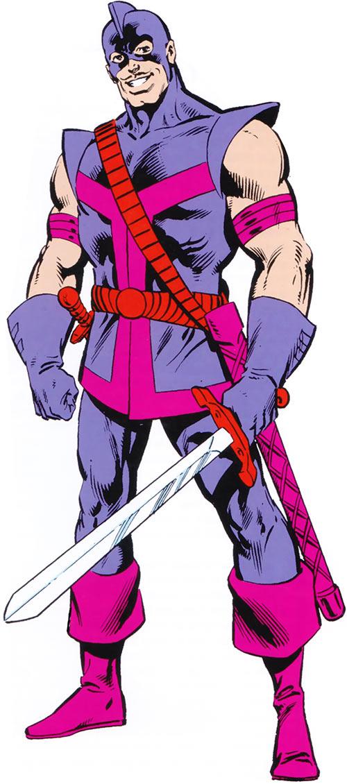 Swordsman (Duquesne) of the Avengers (Marvel Comics)