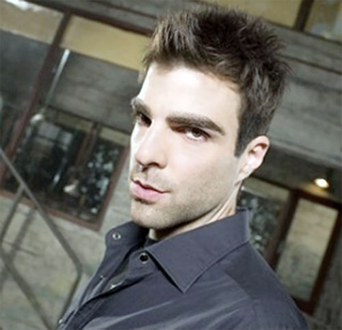 Sylar (Zachary Quinto in NBC's Heroes) looking hot