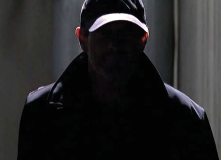 Sylar (Zachary Quinto) in the dark with shadowed face