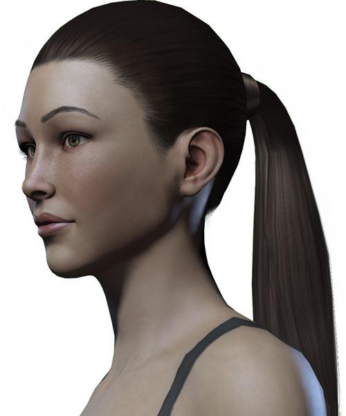 Titan Quest - Female Player Character - Sylphid - portrait queue
