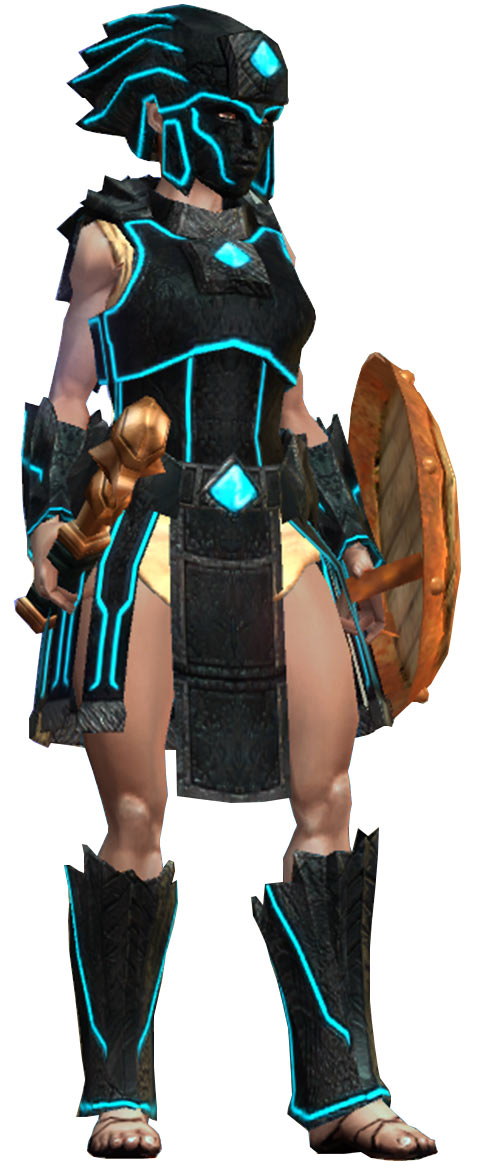 Titan Quest - Female Player Character - Sylphid