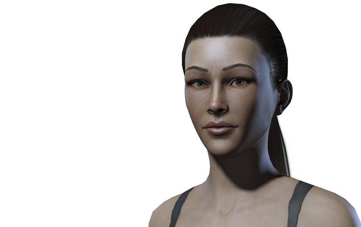 Titan Quest - Female Player Character - Sylphid - banner portrait 1