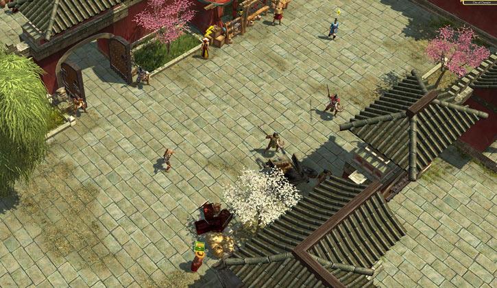 Titan Quest landscape screenshot - Chang'An