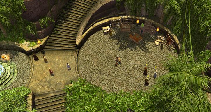 Titan Quest landscape screenshot - Medea coven Ixian