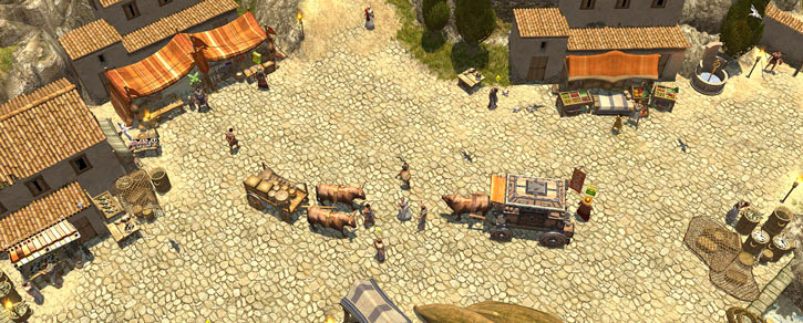 Titan Quest landscape screenshot - Megara
