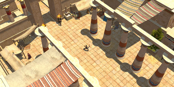 Titan Quest landscape screenshot - Rhakotis