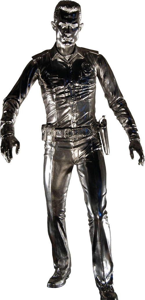 T-1000 Terminator (Robert Patrick) in liquid metal form