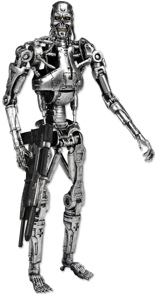 T-800 Terminator with plasma rifle