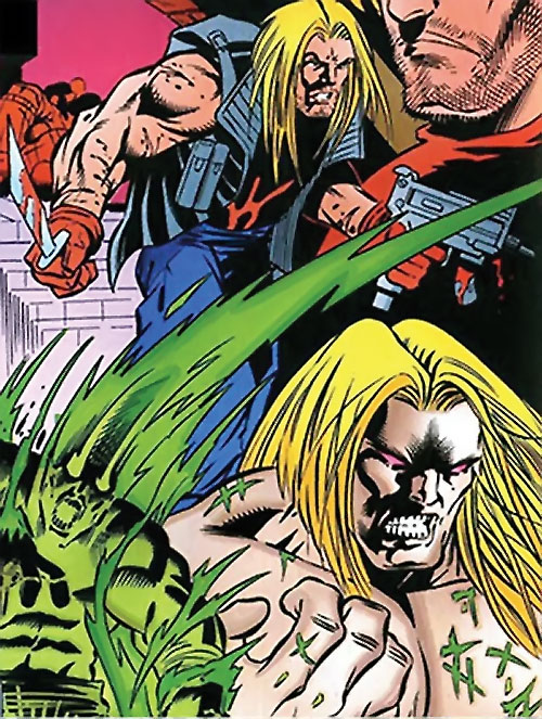 T-Ray (Deadpool enemy) (Marvel Comics) montage