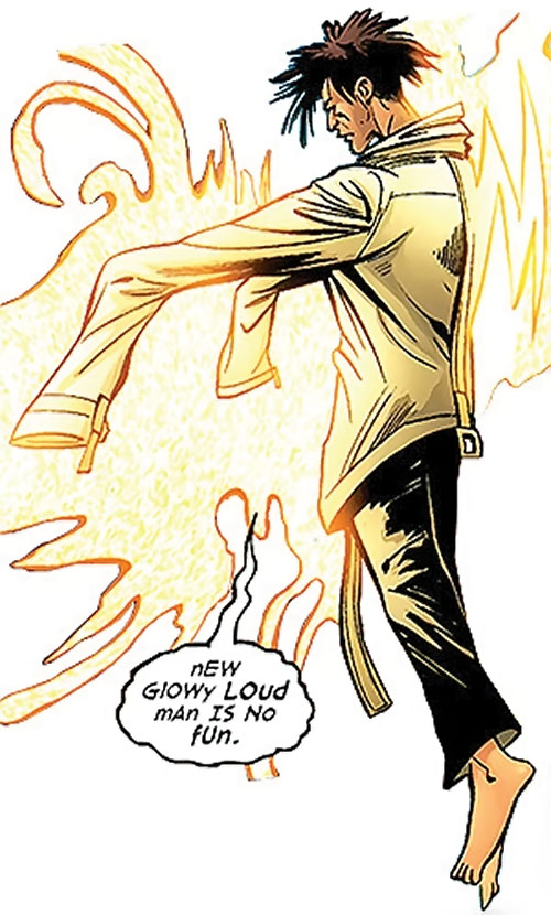T.V.M. the Trans-Volitional Man of the Dreambound (DC Comics trinity)