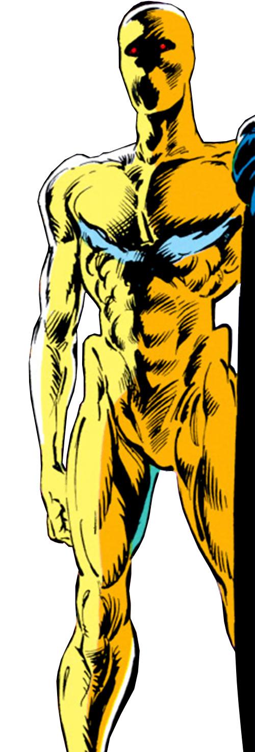 Tabula of the Gatherers (Avengers enemy) (Marvel Comics) corpse-like appearance