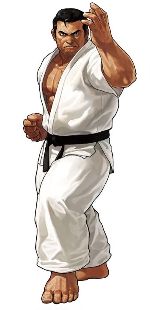 Mister Karate (Takuma Sakazaki) (King of Fighters)