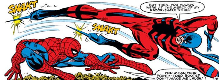 Tarantula (Anton Rodriquez) vs. Spider Man