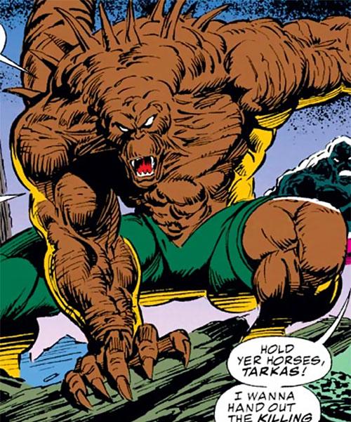 Tarkas of the Gatherers (Avengers enemy) (Marvel Comics)