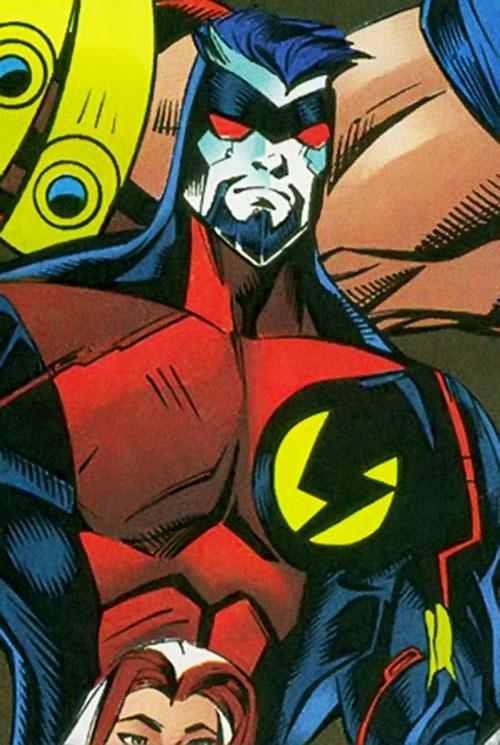 Techno (the Fixer) of the Thunderbolts (Marvel Comics)