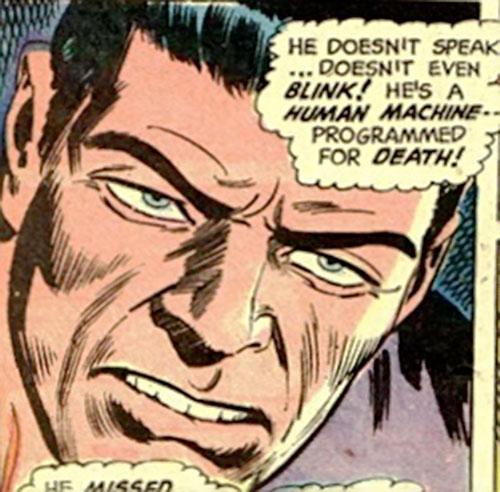 Tejja the silek killer (Batman enemy) (DC Comics) face closeup