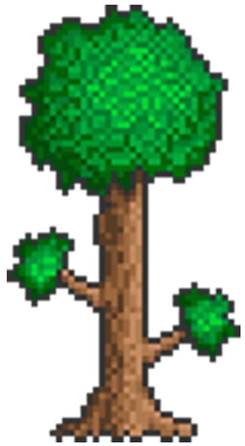 Terraria tree logo