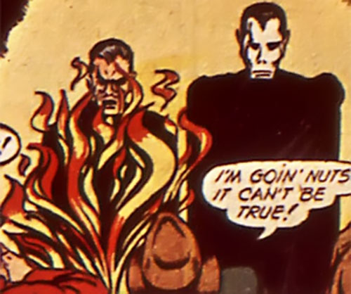The Terror (Timely Comics) transforming
