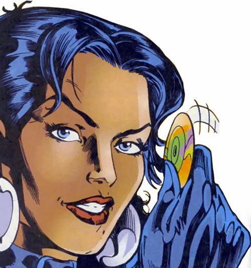 Tessa of the Hellfire Club (Marvel Comics X-Men) smiling CD