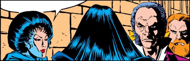 Tessa of the Hellfire Club (Marvel Comics X-Men) tension