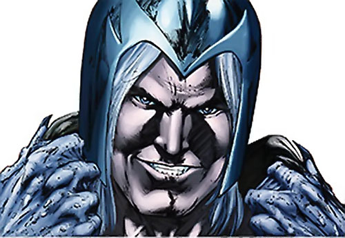 Thanador (Claw the Unconquered and Red Sonja enemy) (Wildstorm comics) face closeup