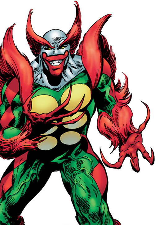 The Jackson (Astro City) with claws out