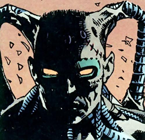 The Machine (Dark Horse comics) head closeup