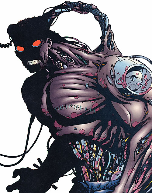 The Machine (Dark Horse comics) looking spooky