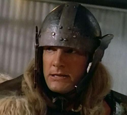 Thor (Eric Kramer in Incredible Hulk Returns) (Marvel movie) helmet closeup