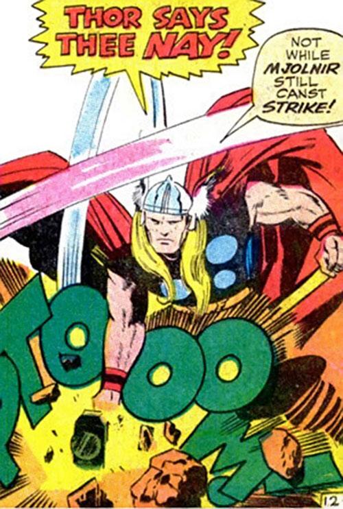 Thor (Marvel Comics) I say thee nay
